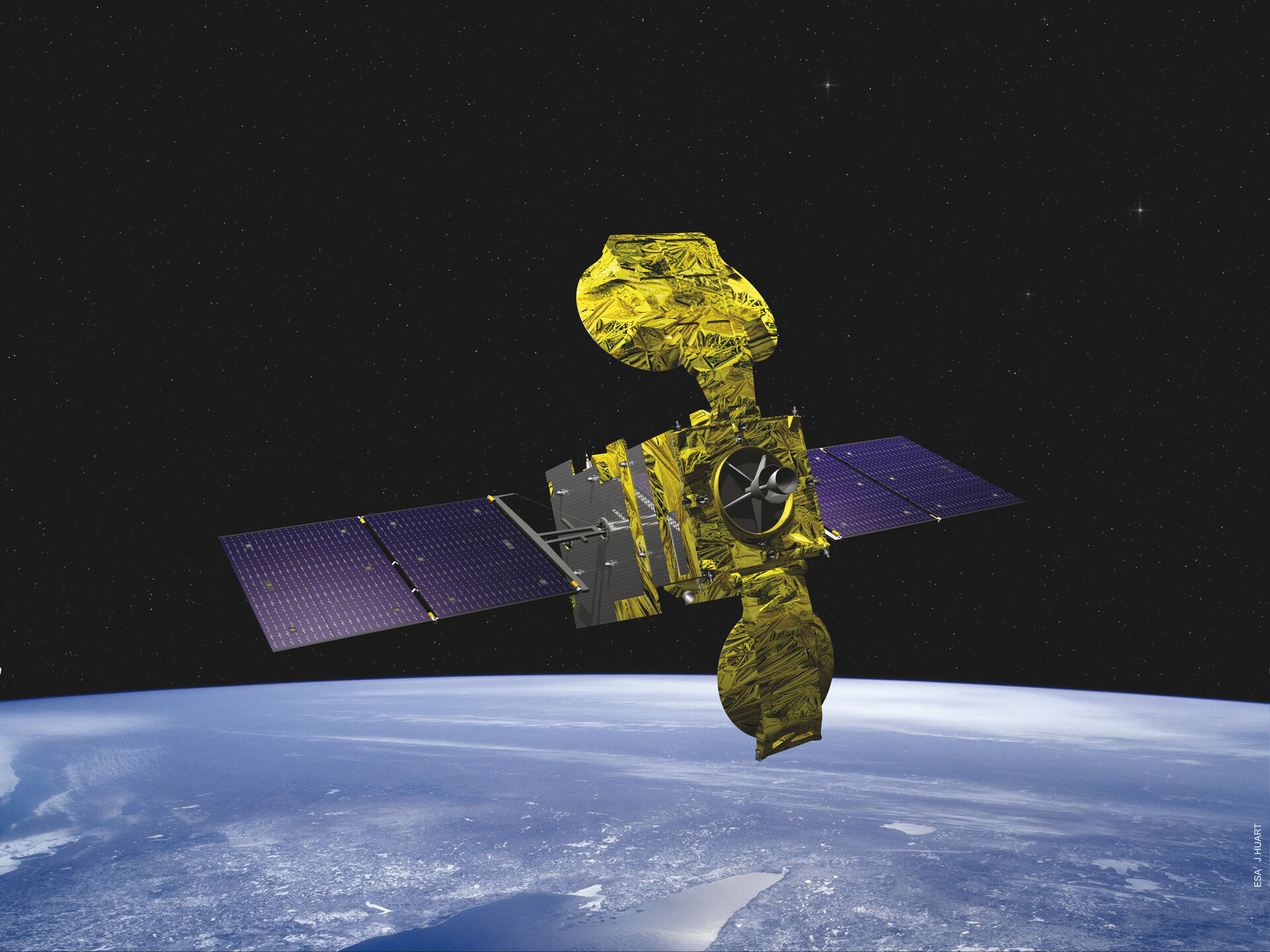 Hylas 1 Satellite
